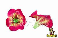 Цветы Лилии Малиновые из ткани 14 см 1 шт