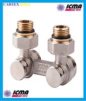 Двухтрубный вентиль для панельного радиатора ICMA 884