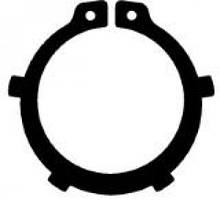 Кольцо DIN 983 стопорное пружинное наружное для вала