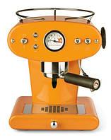 Домашняя кофеварка illy X1 MACINATO ARANCIONE  / кофемашина цвет оранжевый