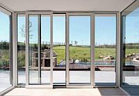 Раздвижные металлопластиковые окна и двери