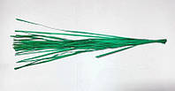 Деревянные веточки, шпон, зеленый