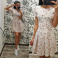 Стильное женское платье н-40384