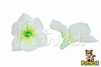 Цветы Лилии Молочные из ткани 14 см 1 шт