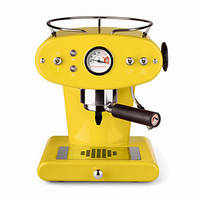 Домашняя кофеварка illy X1 MACINATO GIALLO  / кофемашина цвет  желтый