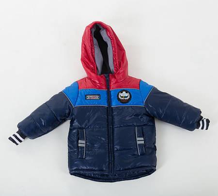 Детская зимняя модная куртка аналог Benetton , 2р