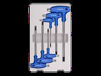 Шестигранники (комплект) Г-образные экстрадл. 6пр. 3-8 мм KINGTONY 22106MR