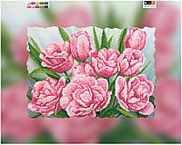 """Схема для вышивки бисером на подрамнике (холст) """"Прекрасные тюльпаны"""""""