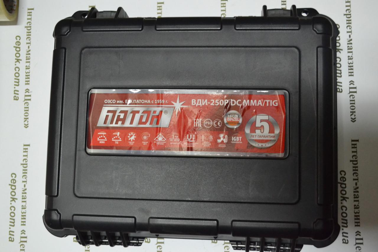 Зварювальний інвертор Патон ВДИ-250Р DC MMA / TIG