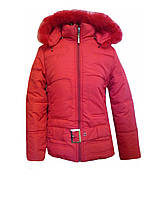 Куртка утепленная ремень