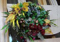 Осенний венок (d-35см)