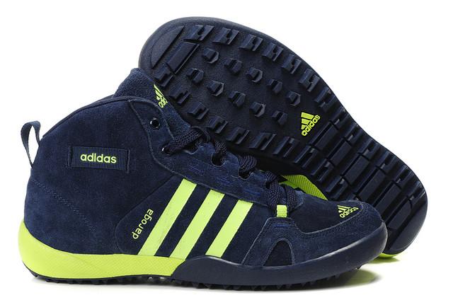 Кроссовки мужские зимние Adidas Daroga / WNTR-036 (Реплика)