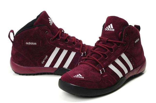 Кроссовки мужские зимние Adidas Daroga / WNTR-038 (Реплика)