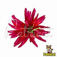 Цветы Астра Малиновая из ткани 11 см 1 шт