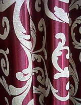 Готовые Шторы Блэкаут Женева №6 (бордо) темная сторона, фото 3