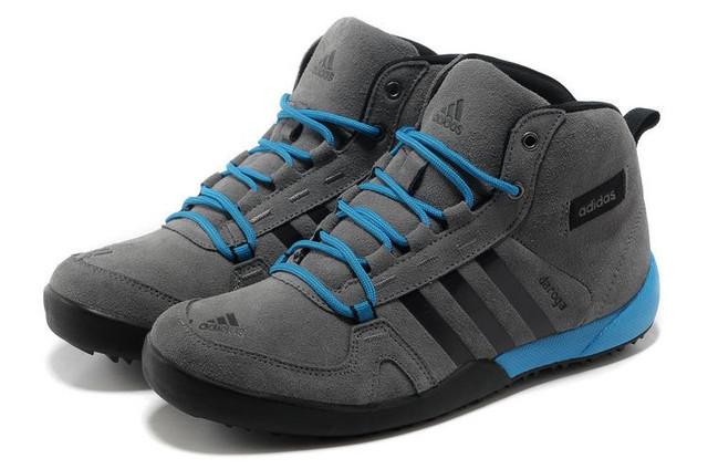 Кроссовки мужские зимние Adidas Daroga / WNTR-050 (Реплика)