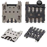 Коннектор SIM-карты для Blackberry Q10 / Z10, оригинал