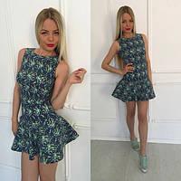 Джинсовое летнее платье п-40391