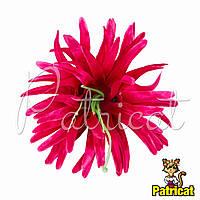 Цветы Астра Фуксия из ткани 11 см 1 шт
