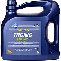 Моторное масло Aral Super Tronic Long Life III 5W30 4 литра