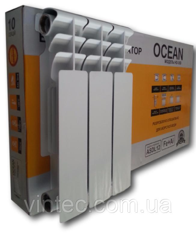 Биметаллический радиатор Ocean 500/80 Турция , фото 1