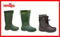 Прочная и теплая обувь тоговой марки LEMIGO