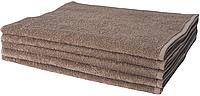 Набор махровых полотенец 40х70-10шт. LOTUS Basic кофейное