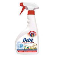 Спрей д/чистки дет.вещей и мебели 99.9% - Chante Clair Bebe' Superfici, 450 ml.