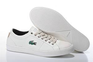 Мужские кеды Lacoste City Series White Leather