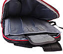 Рюкзак текстильный городской 30502 черный, фото 4
