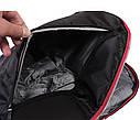 Рюкзак текстильный городской 30502 черный, фото 6
