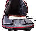 Рюкзак текстильный городской 30502 черный, фото 7