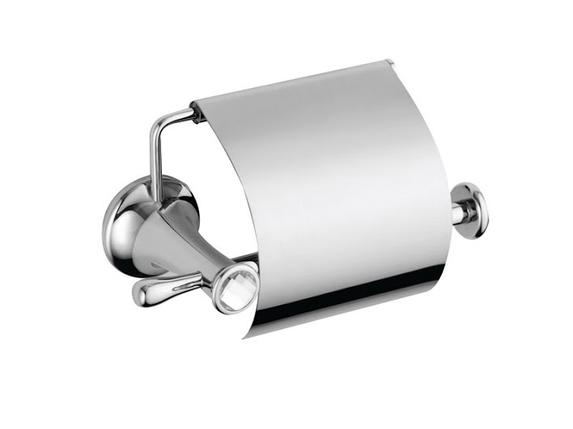 Держатель для туалетной бумаги KUGU Bavaria 311C (латунь, хром)(Бесплатная доставка  ), фото 2