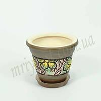 Горшок керамический для пересадки цветов  Конус 1,3 л