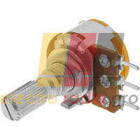 Потенциометр с выключателем R16 B 100кОм