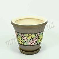 Горшок керамический для пересадки цветов  Конус 2,3 л