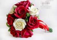 Свадебный букет - Красное