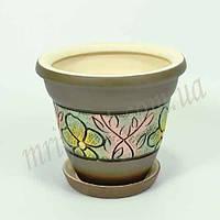 Горшок керамический для пересадки цветов  Конус 3,3 л