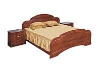 Кровать 2-сп Камелия глянцевая (Світ Меблів TM)