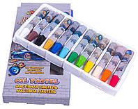 """Масляная пастель """"Мультяшки"""" Street Style (12 цветов) для рисования"""