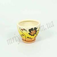 Горшок керамический для пересадки цветов  Пальмира 0,6 л