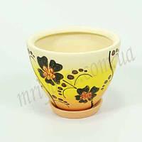 Горшок керамический для пересадки цветов  Пальмира 2,1 л
