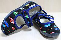 Тапочки в садик на девочку мальчика текстильные обувь Виталия Украина размеры с 23 по 27, фото 1