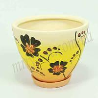 Горшок керамический для пересадки цветов  Пальмира 4 л