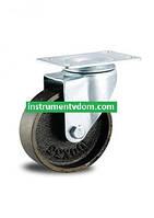 Колесо 4054-125 с поворотным кронштейном (диаметр 125 мм)