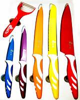 Набор ножей Swiss&Boch цветные 8 предметов
