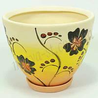 Горшок керамический для пересадки цветов  Пальмира 7 л