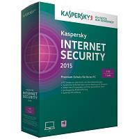 Программная продукция Kaspersky Internet Security 2015 Multi-Device 1 ПК 1 год Base Box (1-Device 1 year)