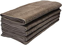 Набор махровых полотенец 50х90 -10шт. LOTUS Basic кофейное, фото 1
