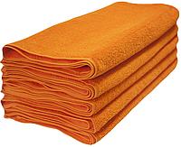 Набор махровых полотенец 50х90 -10шт. LOTUS Basic оранжевое, фото 1